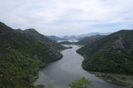 Skadarjärven kansallispuistoa
