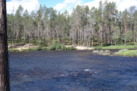 Aittajärven ylityspaikka