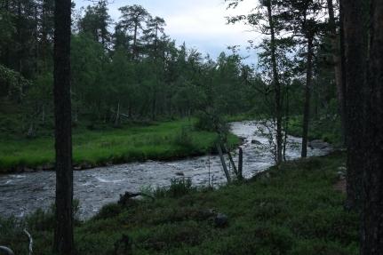 tyypillinen joki...vedellä on aina kiire jonnekin...